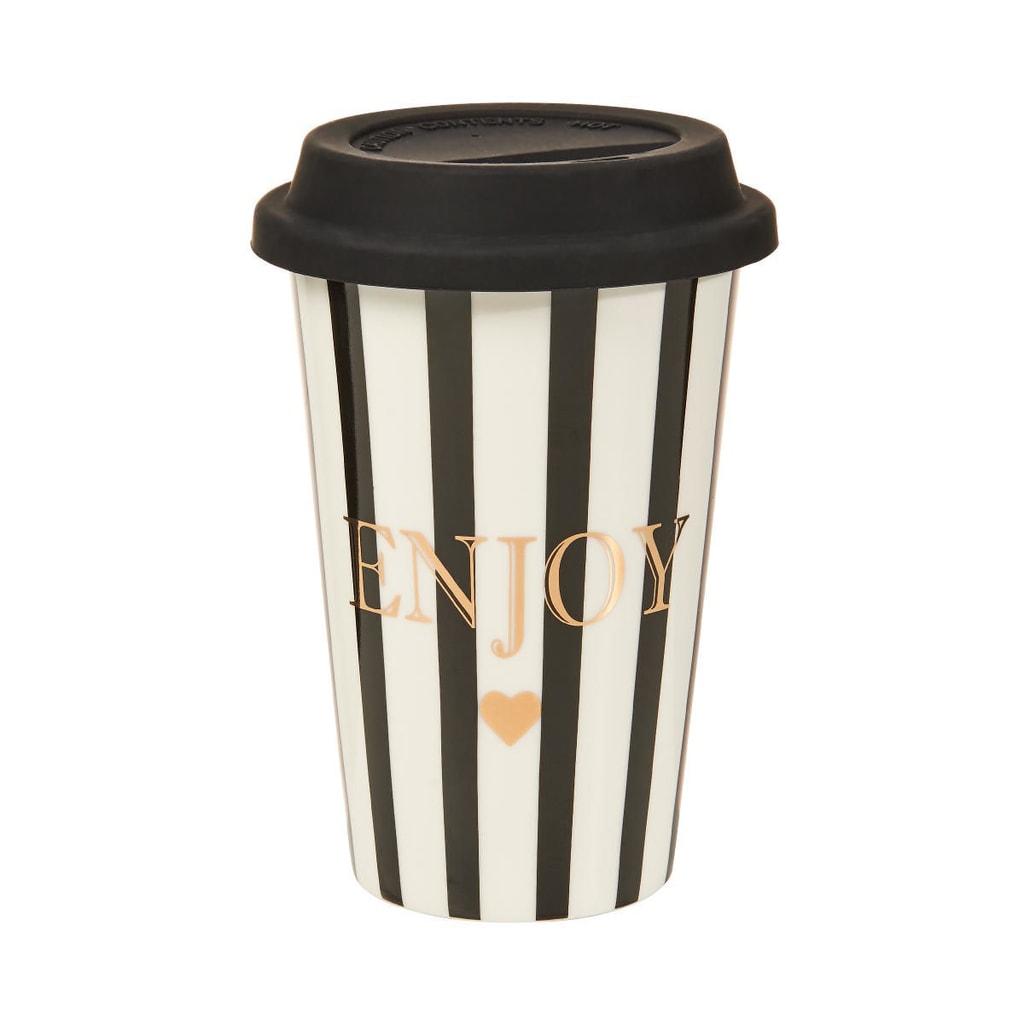 """COFFEE DELUXE Cestovní hrnek na kávu """"Go Enjoy"""""""