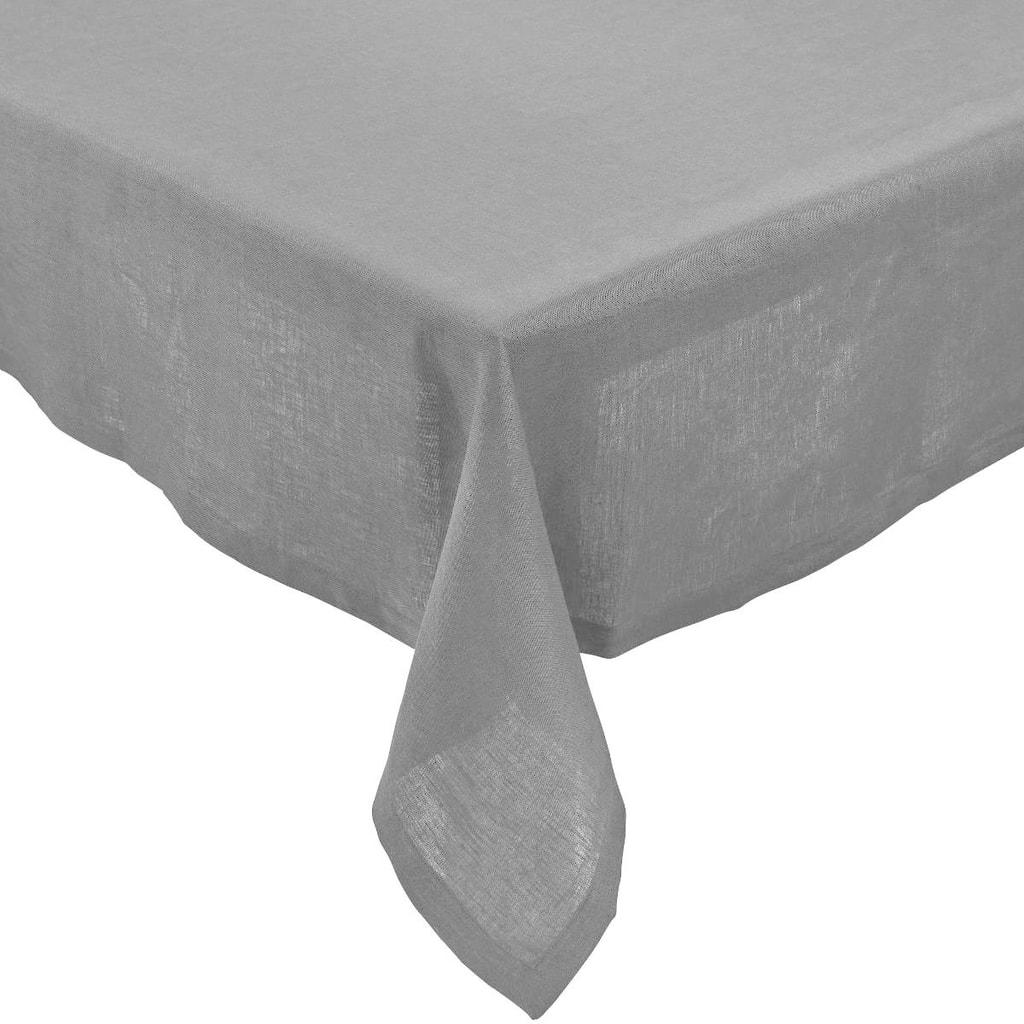 PLAIN & NOBLE Ubrus 150 x 250 cm - šedá