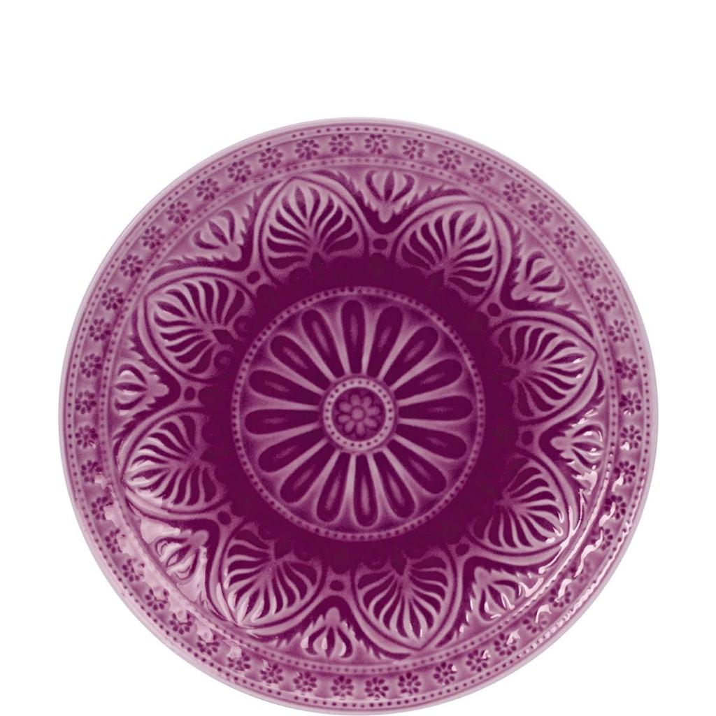 SUMATRA Talíř Ø 25 cm - purpurová