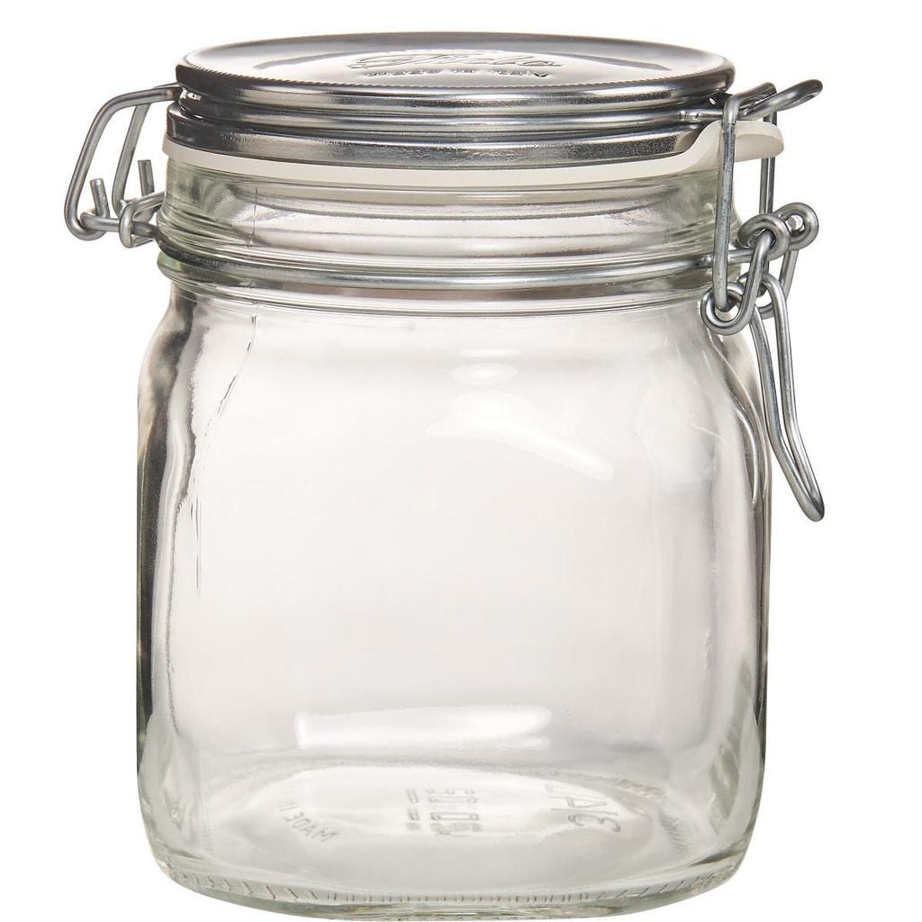 FIDO Zavařovací sklenice - stříbrná
