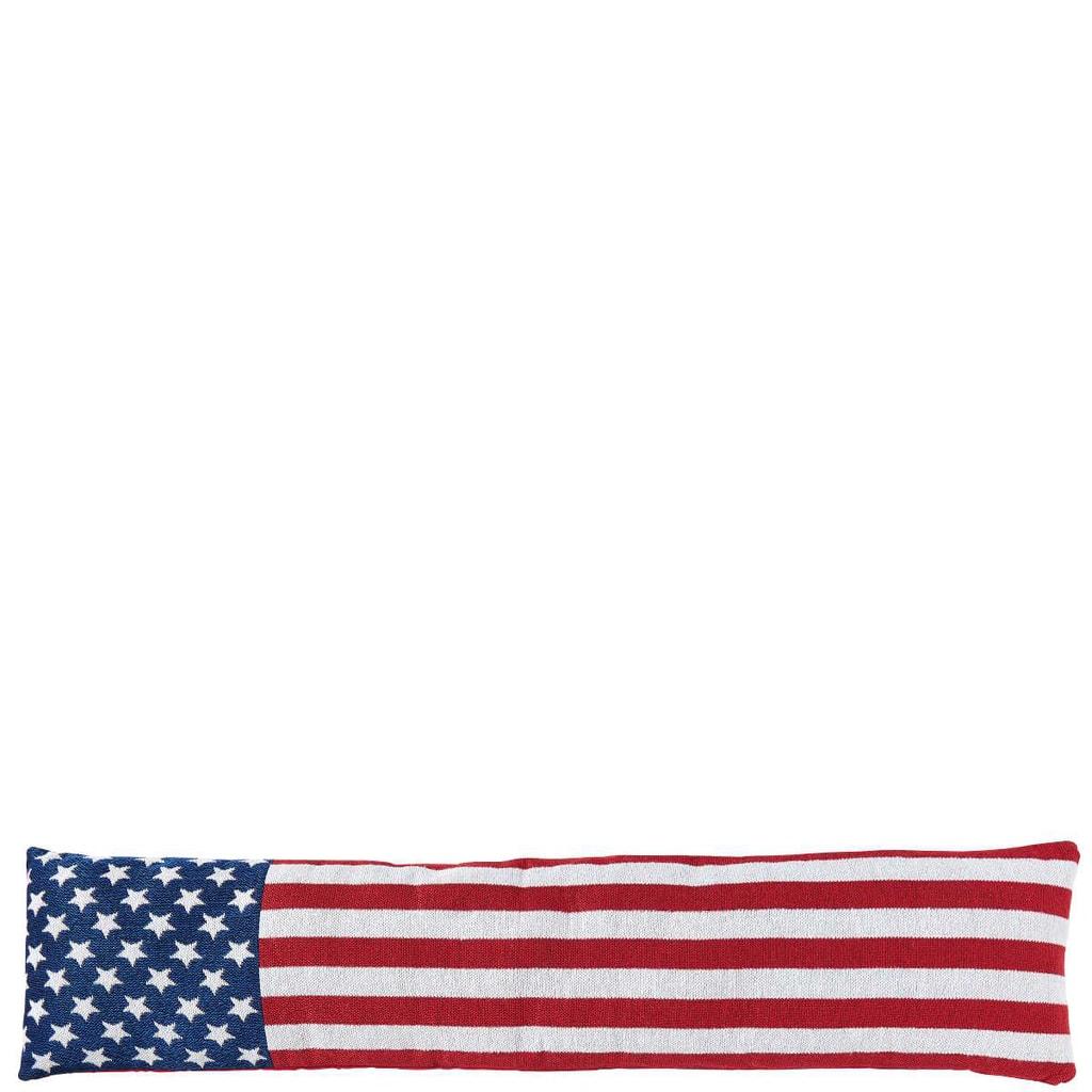 COSY HOME Polštář proti průvanu US vlajka
