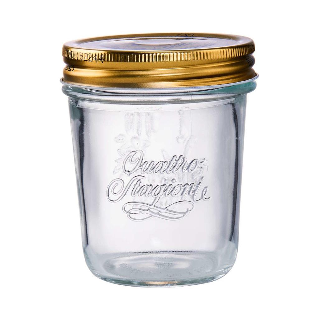 QUATTRO STAGIONI Zavařovací sklenice 200 ml