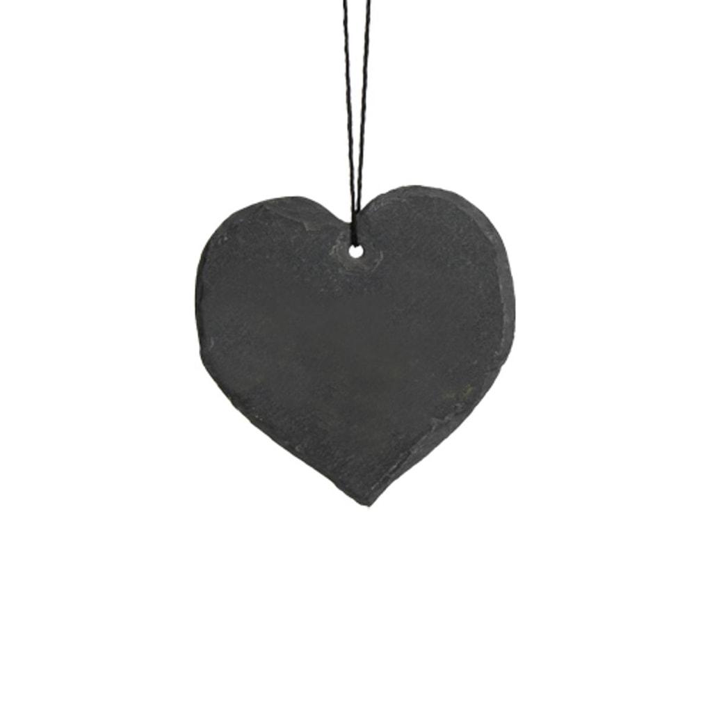 NAME IT! Srdce břidlicové 10 cm