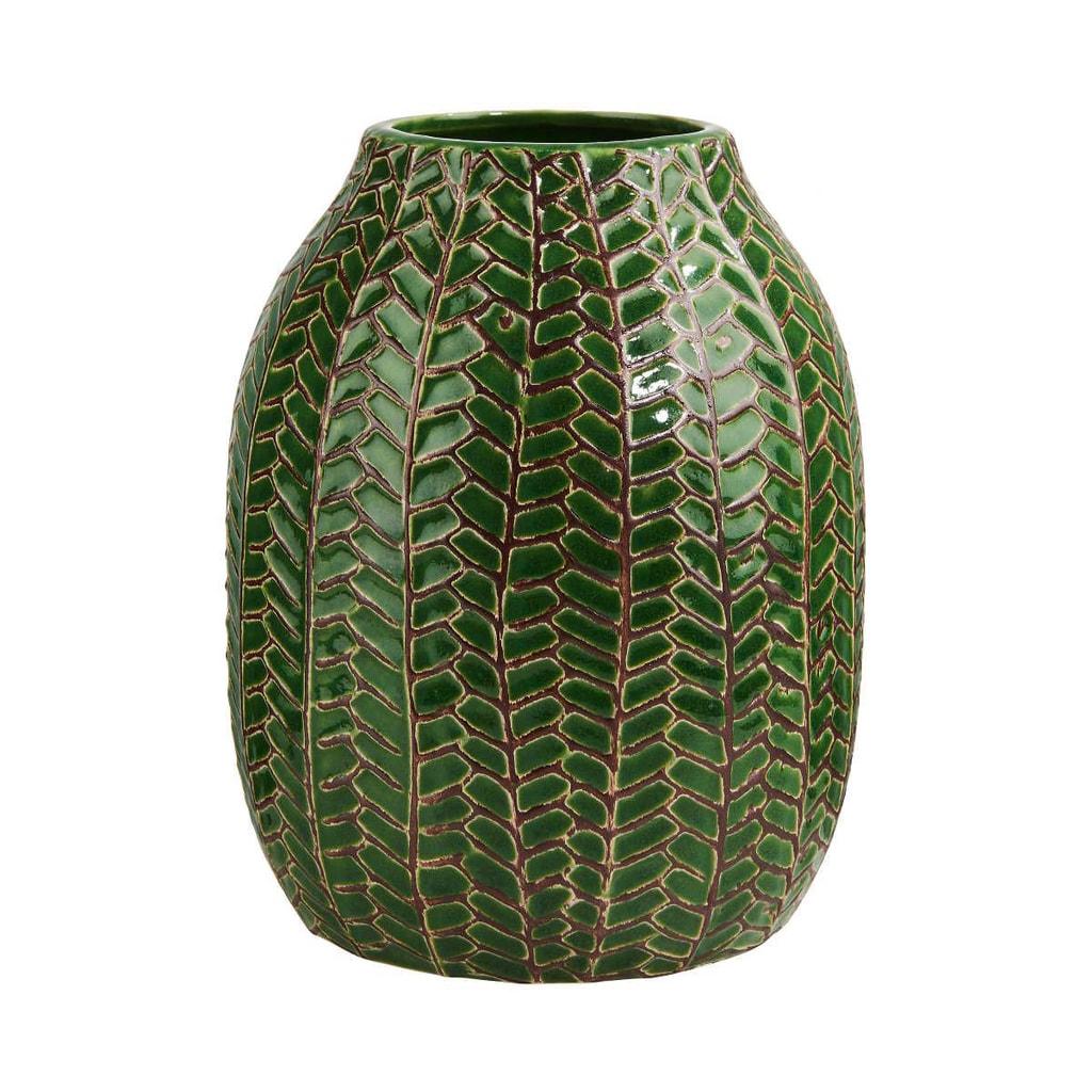 WILD GREEN Váza 19 cm - zelená