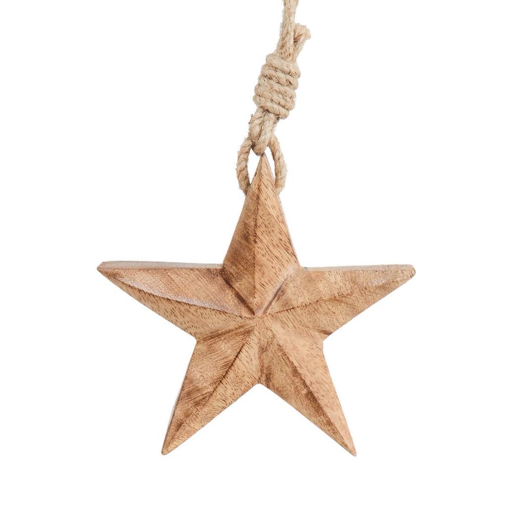 HANG ON Ozdoba hvězda malá