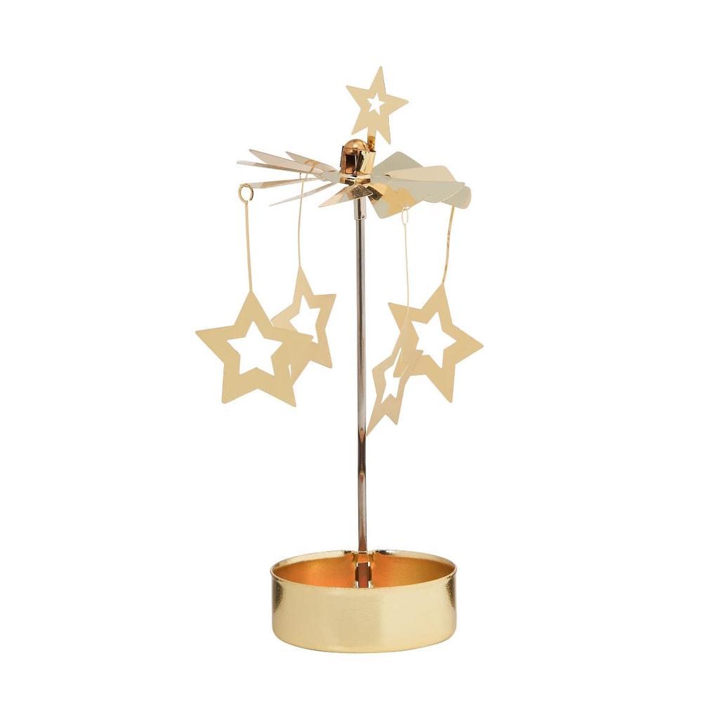 MERRY-GO-ROUND Kolotoč na čajovou svíčku hvězda