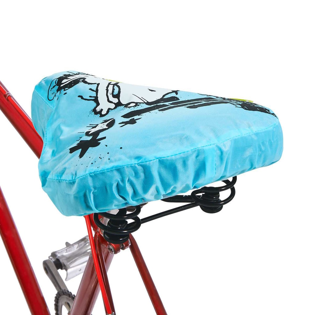 PEANUTS Potah na sedlo Snoopy - modrá