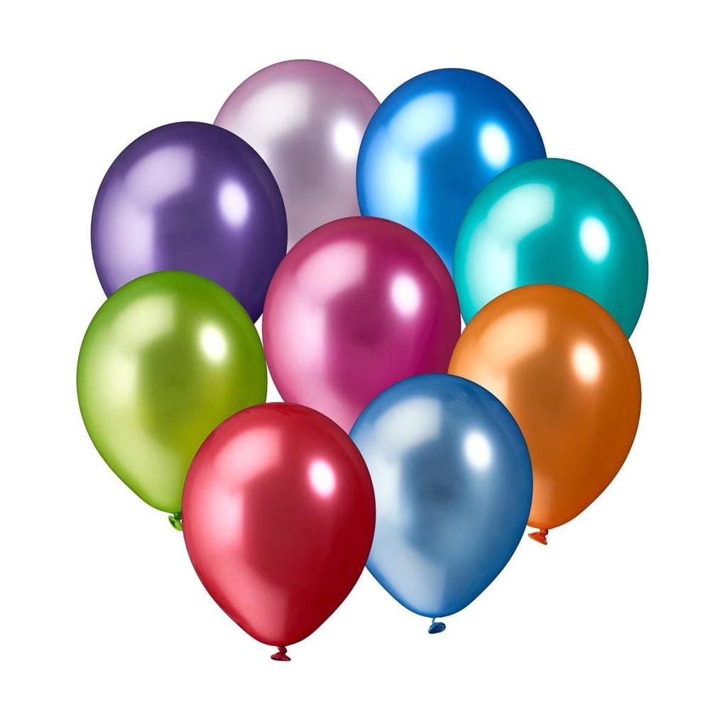 UPPER CLASS Balónky set - velké, metalické