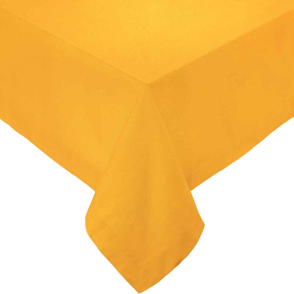 SOLID Ubrus 90x90cm - žlutá