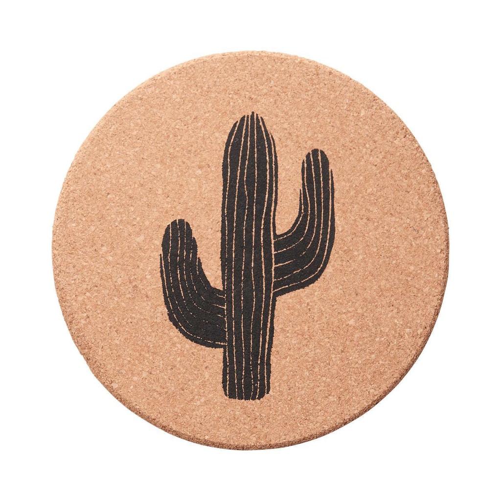 CORK Korkový podtácek kaktus 19 cm