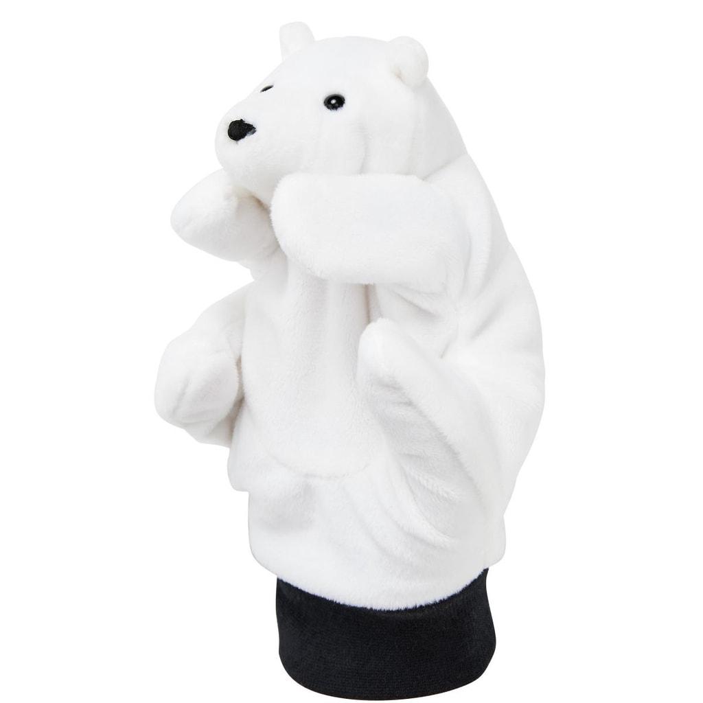 WILD GUYS Maňásek na ruku lední medvěd