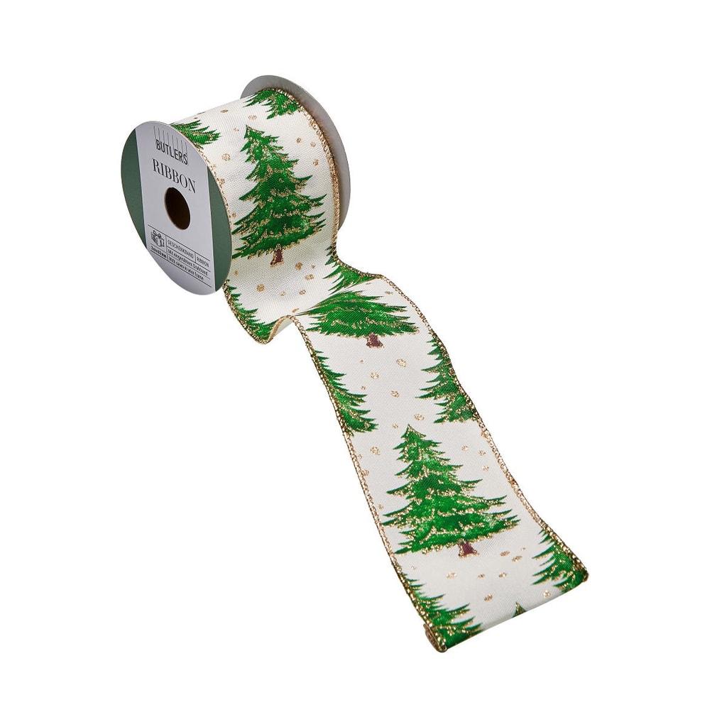 RIBBON Dárkov stuha vánoční stromek