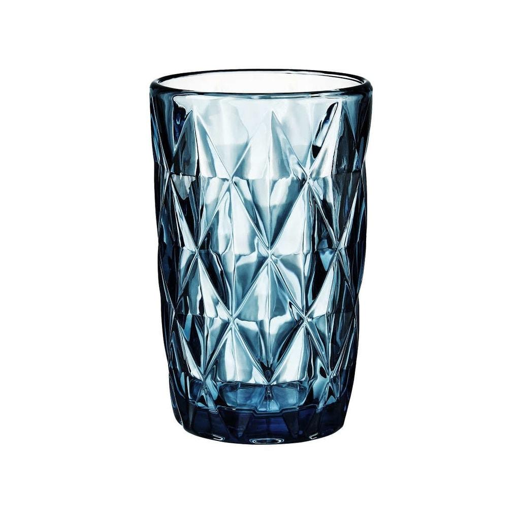 FARO Sklenice diamant 315 ml - tyrkysová