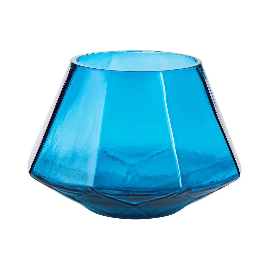 DELIGHT Svícen na čajovou svíčku 12 cm - petrolejová