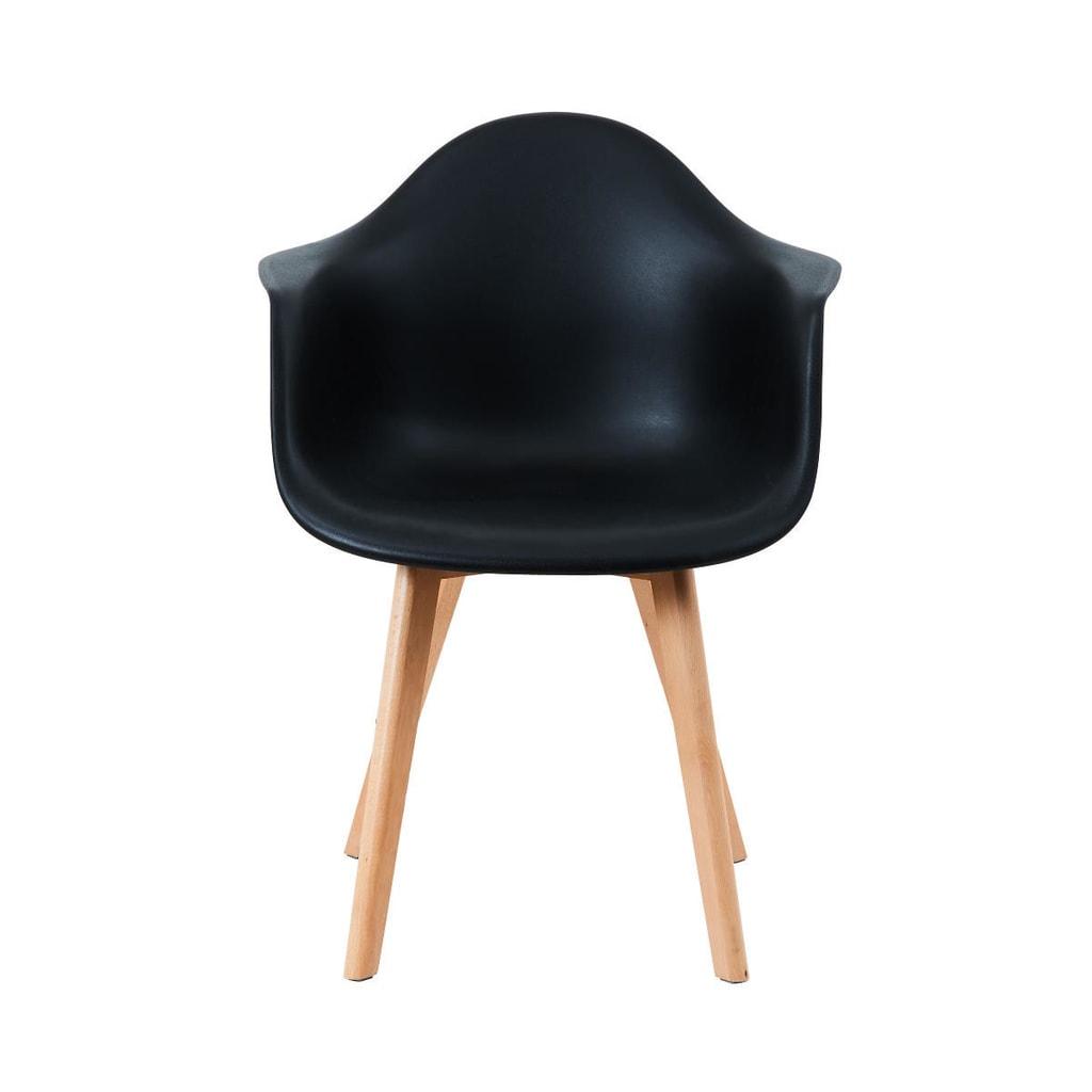 SEAT-OF-THE-ART Židle s područkami - černá