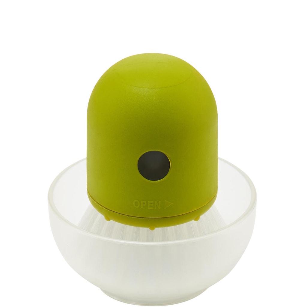 SPRINGFEVER Kartáček na nádobí plnící - zelená