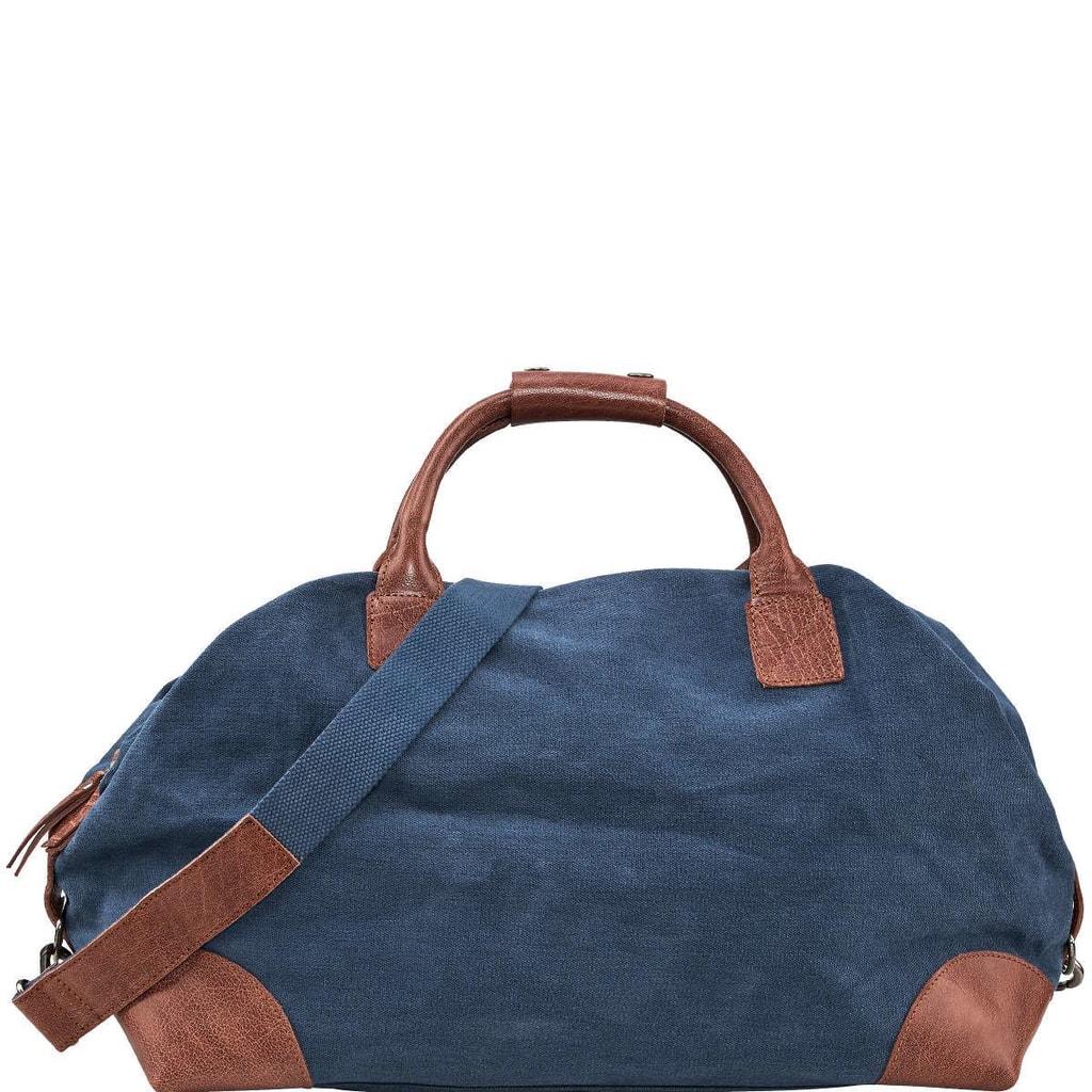 TRAVELLER Plátěná taška - modrá