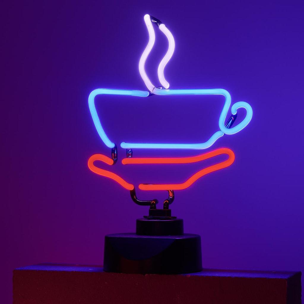 COFFEE Neonové světlo
