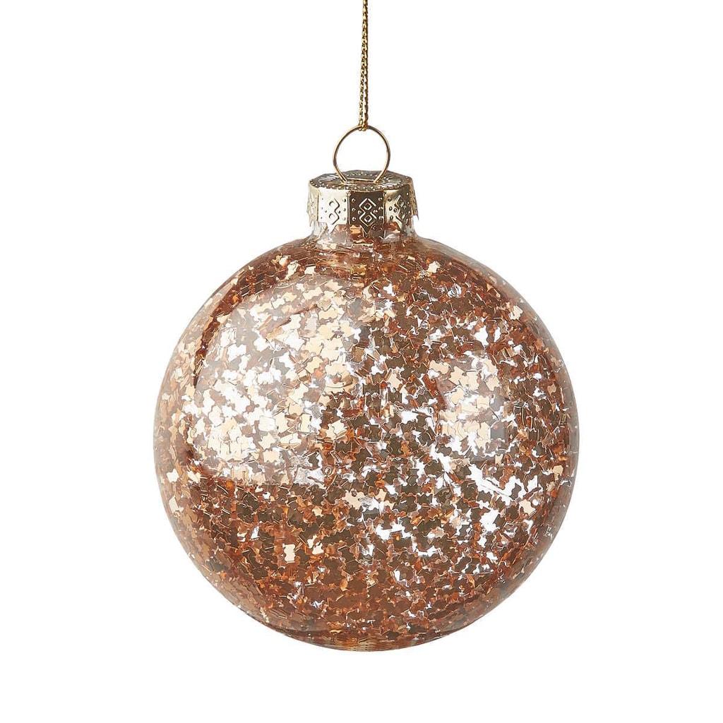 HANG ON Ozdoba vánoční koule cukroví 8 cm