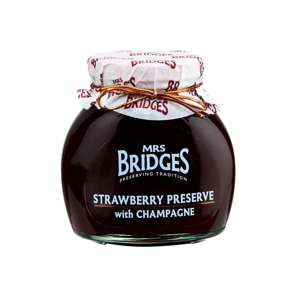 MRS. BRIDGES Jahodová marmeláda 340g