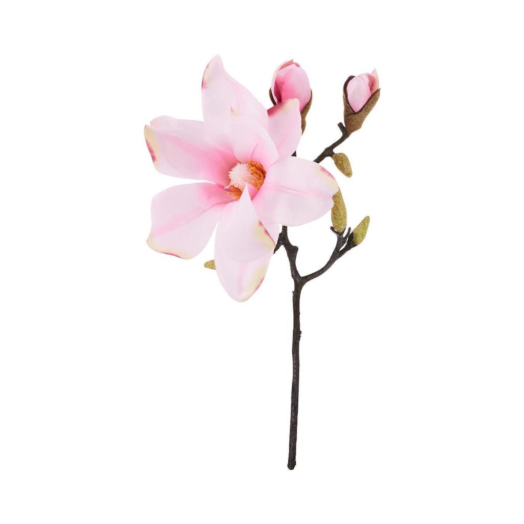 FLORISTA Magnólie 33 cm - sv. růžová