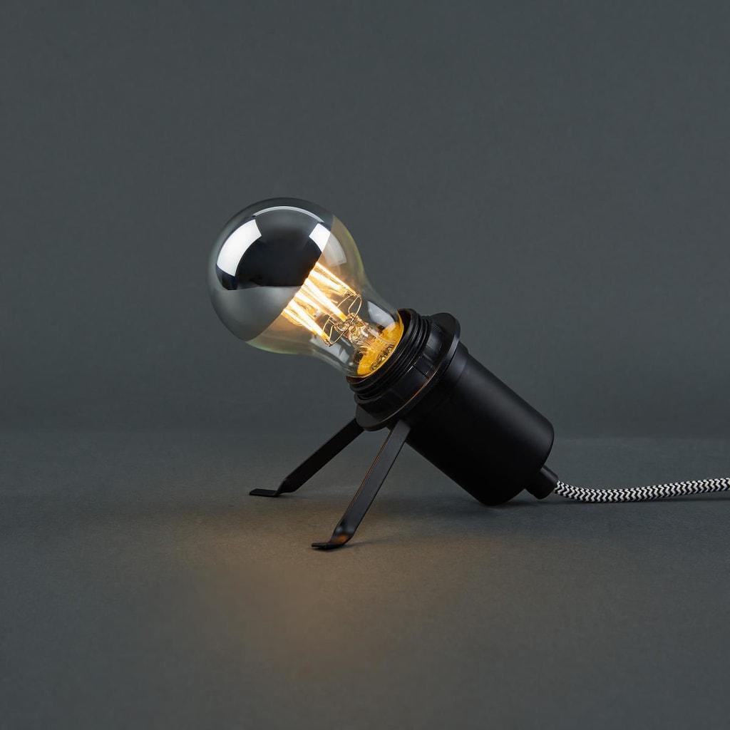 Fotografie BRIGHT LIGHT LED Dekorační žárovka A 60 zrcadlová