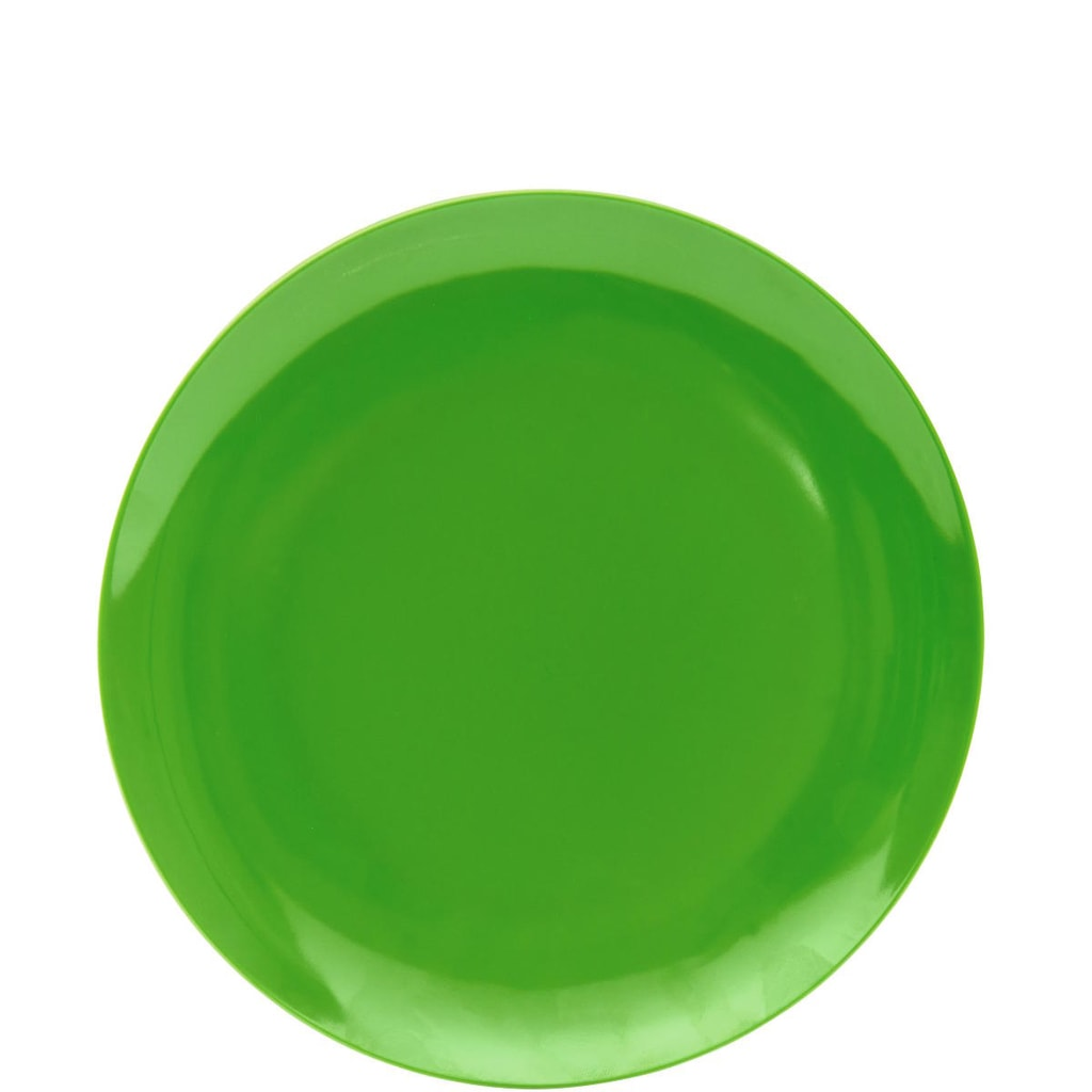 JUNIOR Talíř - zelená