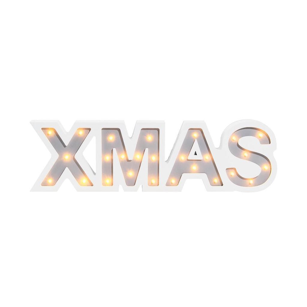 LETTERS LED Světelný nápis XMAS
