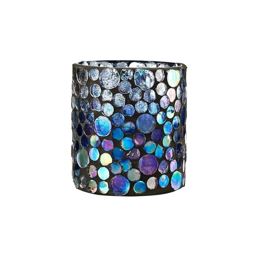 Fotografie ARIELLE Svícen na čajovou svíčku mozaika 8 cm