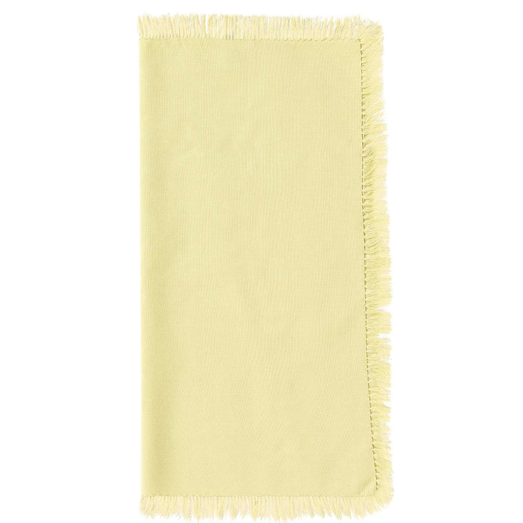LA GRANDE BRASSERIE Ubrousek s třásněmi - žlutá