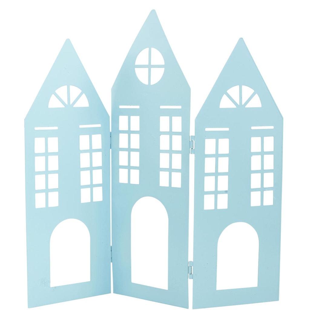 LIGHTHOUSE Dekorační domek - modrá