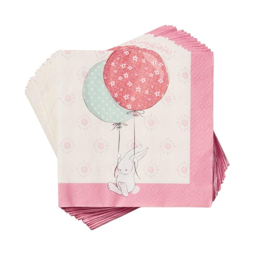 SOME BUNNY Papírové ubrousky balónky