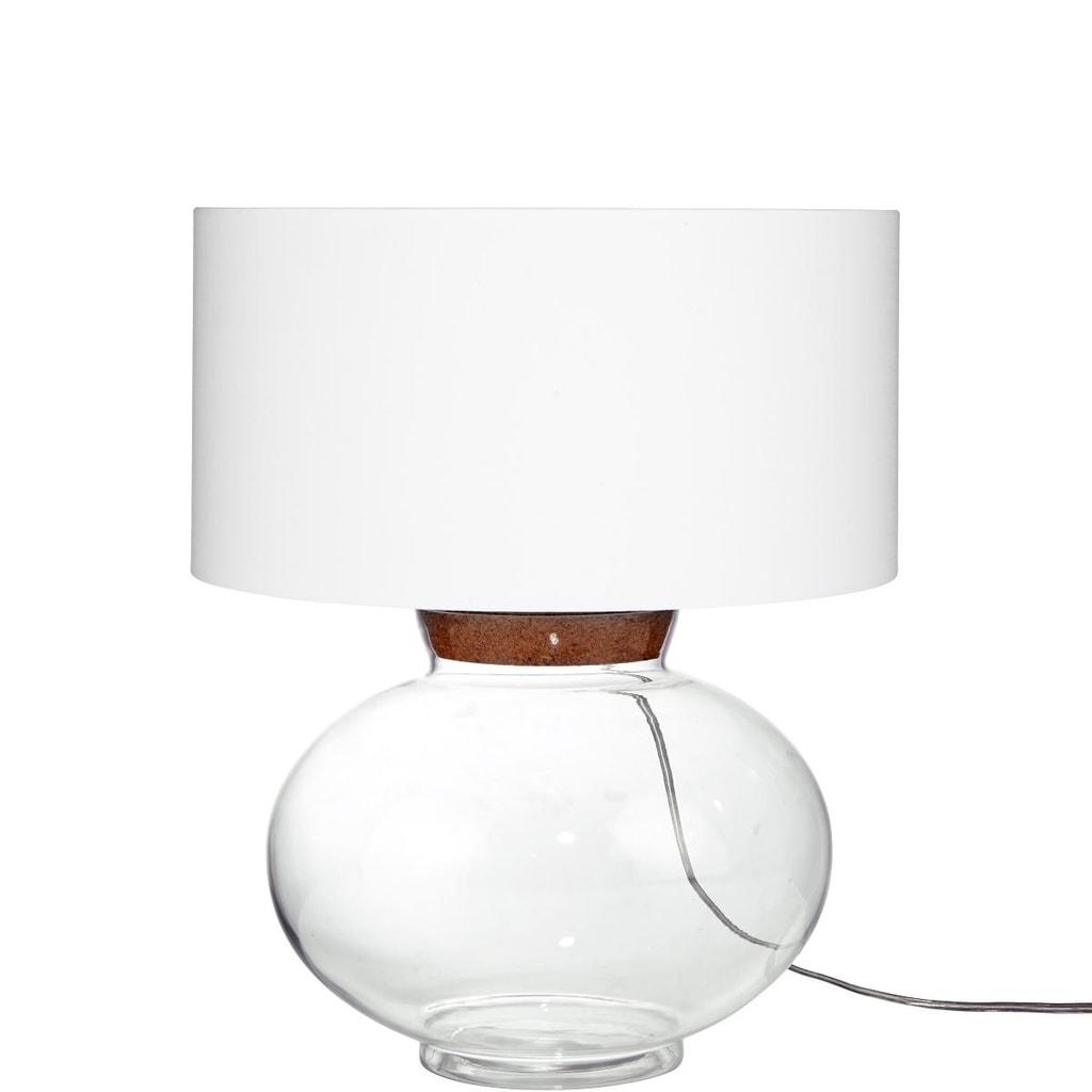 LUCYStolní lampa - bílá
