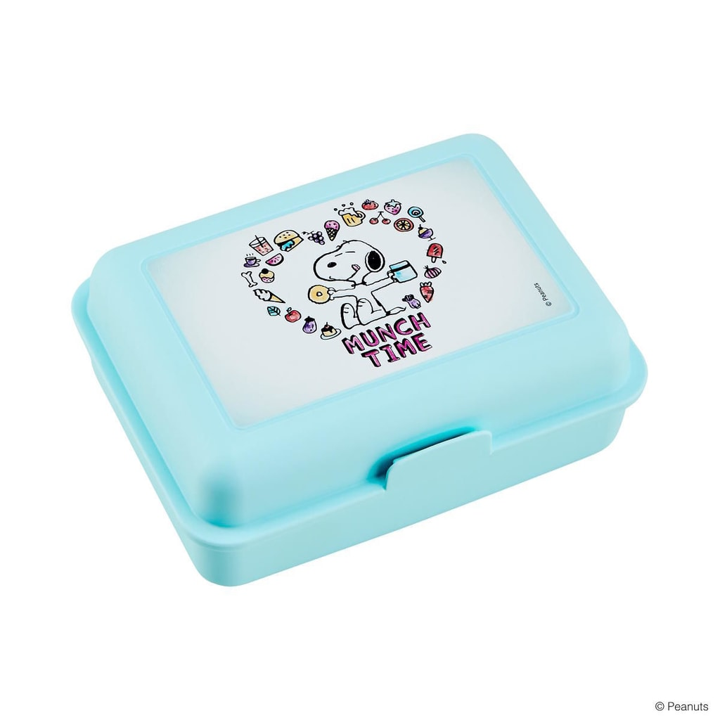 "PEANUTS Box na svačinu ""Munchtime"" - sv. modrá"