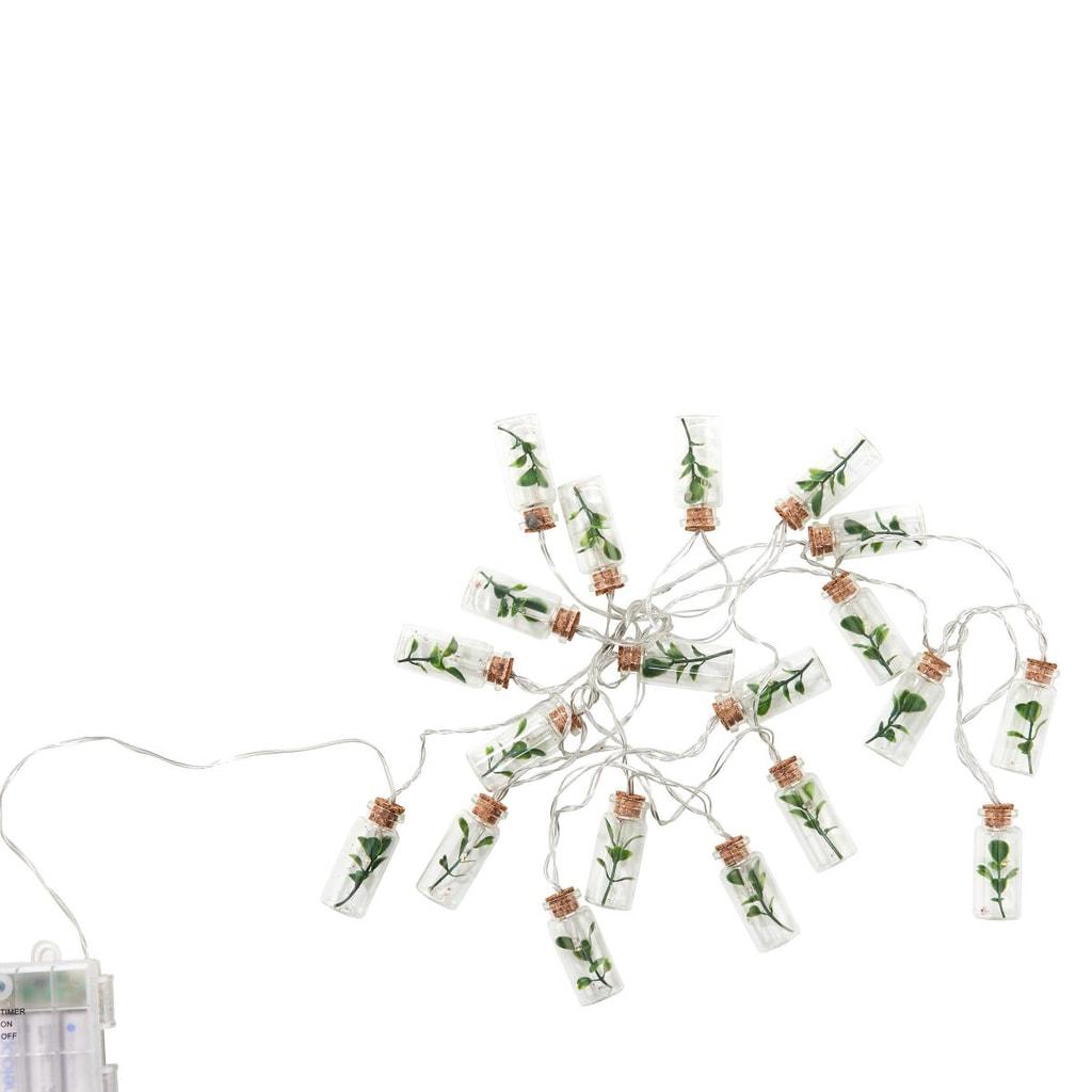 URBAN JUNGLE Světelný LED řetěz zavařovačky