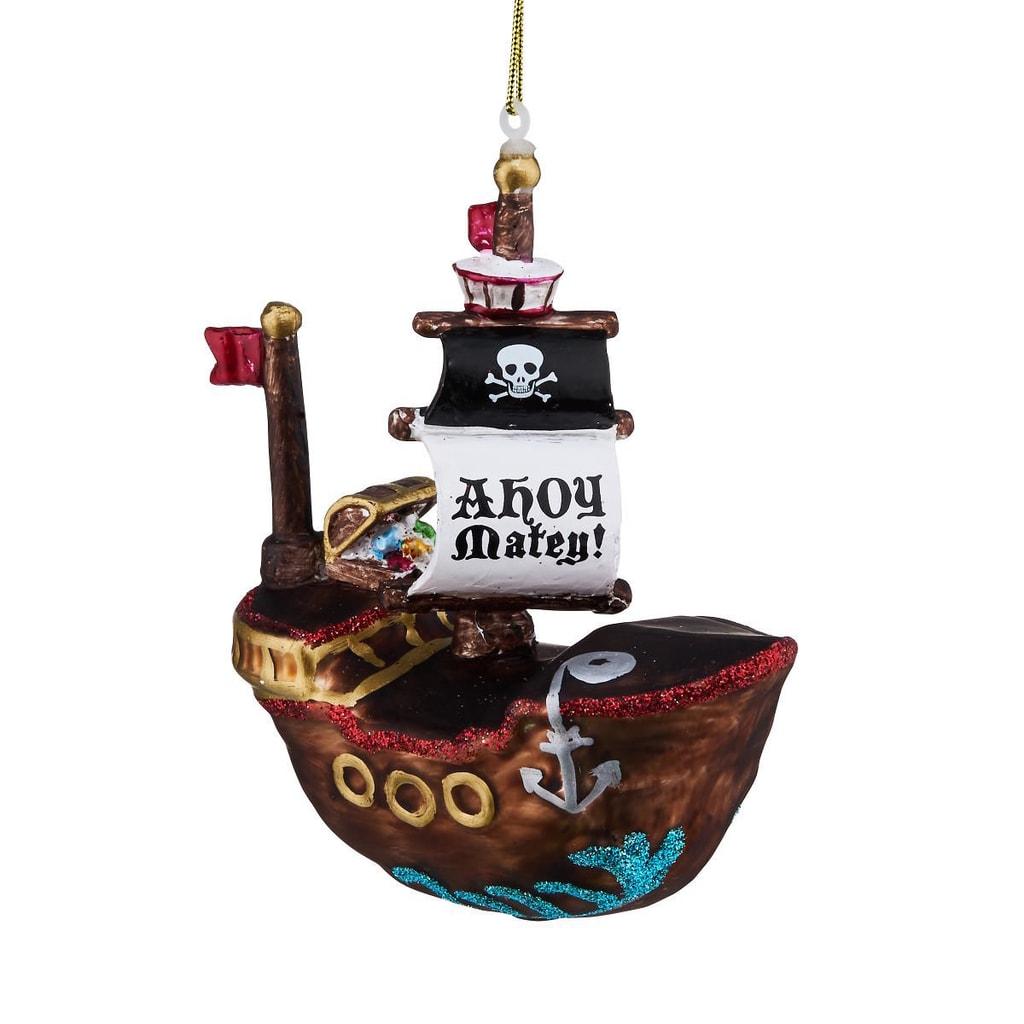 HANG ON Ozdoba pirátská loď