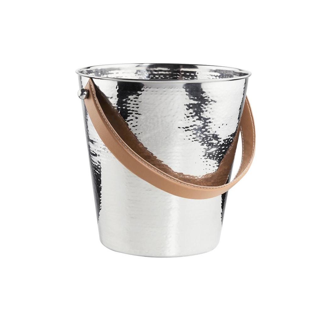 LORD Nádoba na led 23,5 cm - stříbrná
