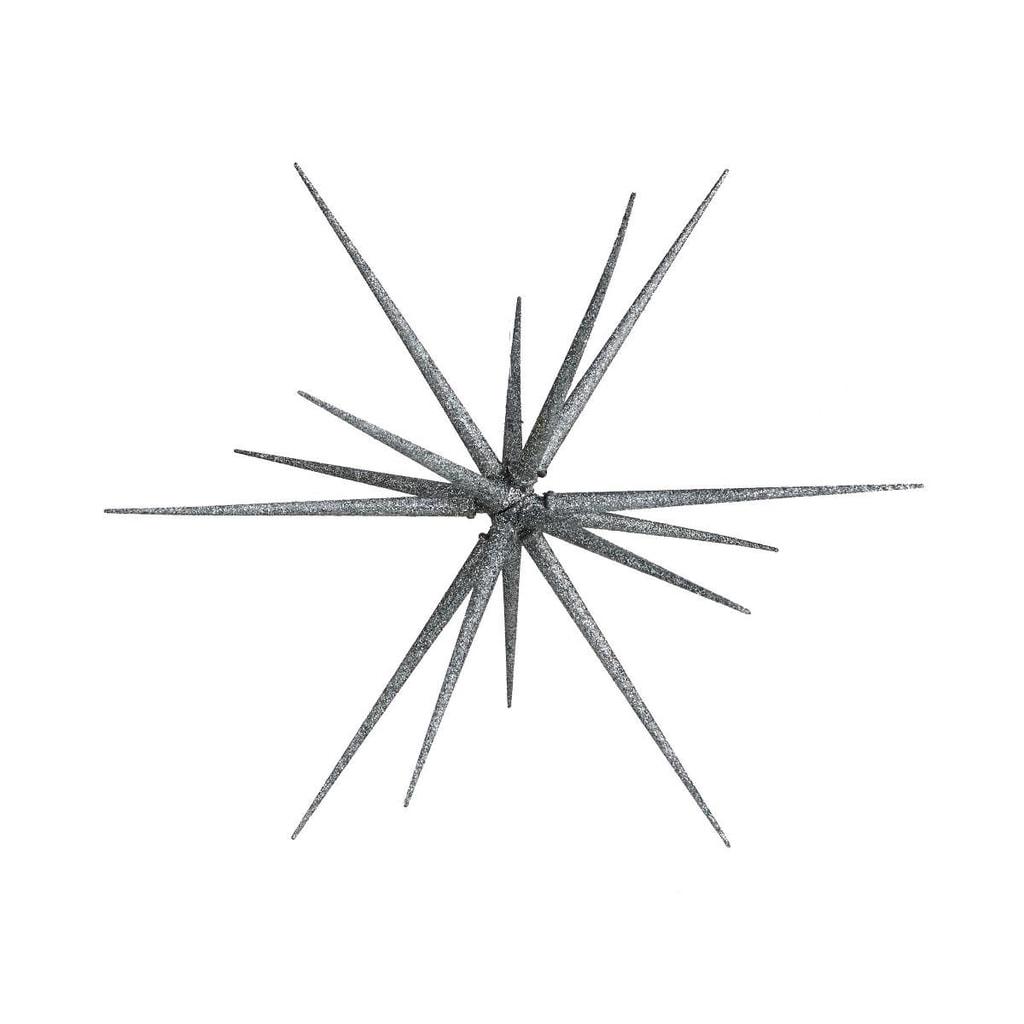 Fotografie HALE BOPP Vánoční hvězda 35 cm - stříbrná