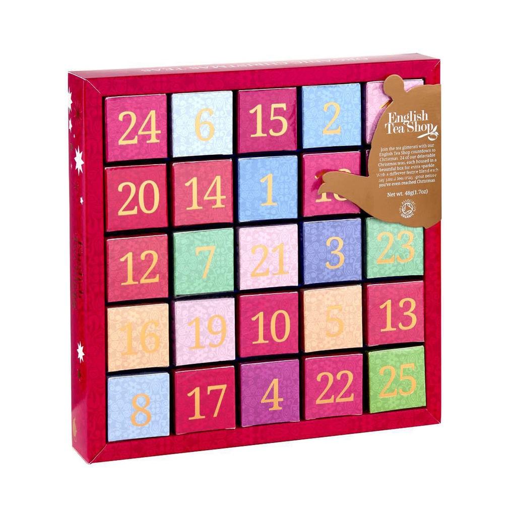 THE ENGLISH TEA SHOP Adventní čajový kalendář