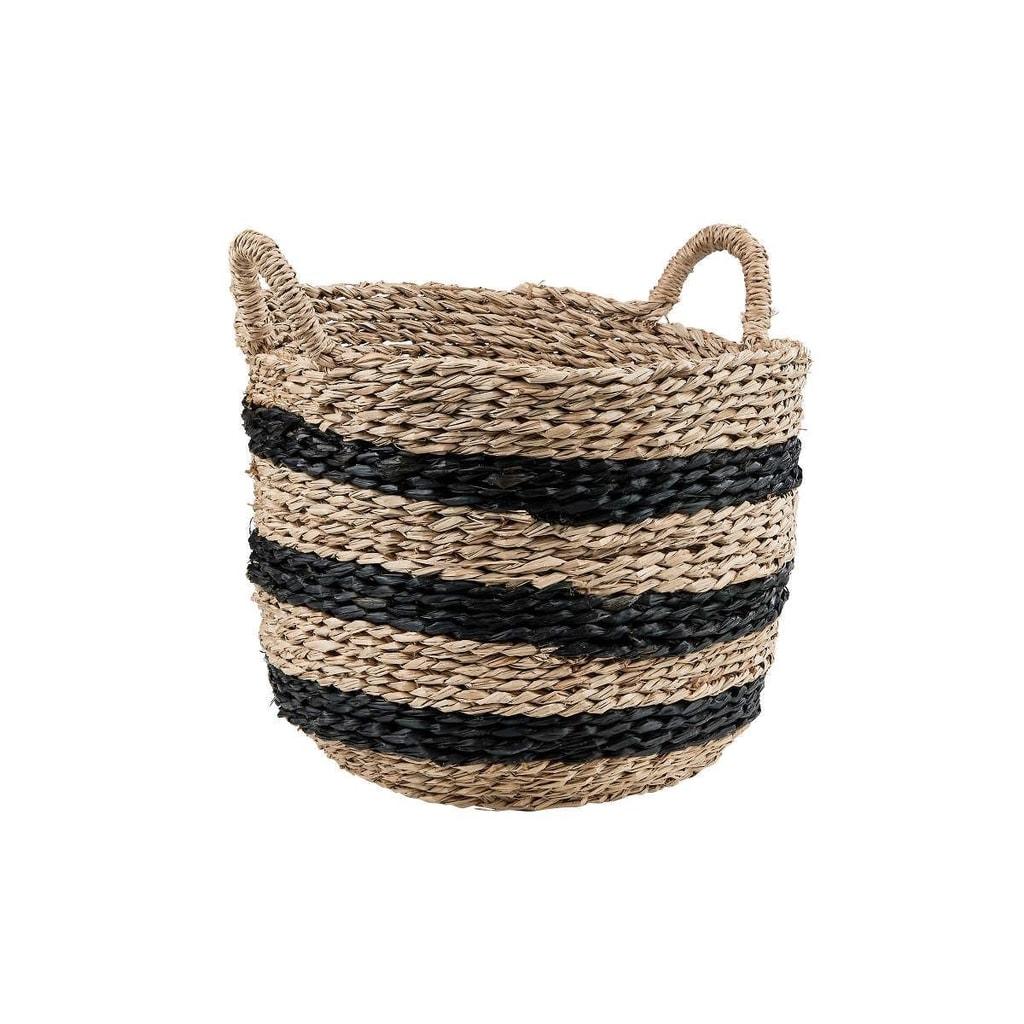 BASIC BRAID Odkládací koš z mořské trávy M