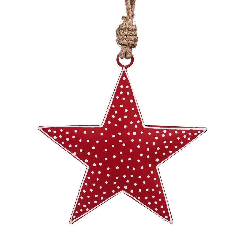 HANG ON Závěsná ozdoba hvězda