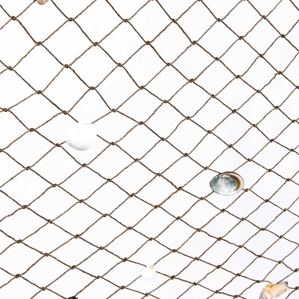 SHELL Dekorační rybářská síť
