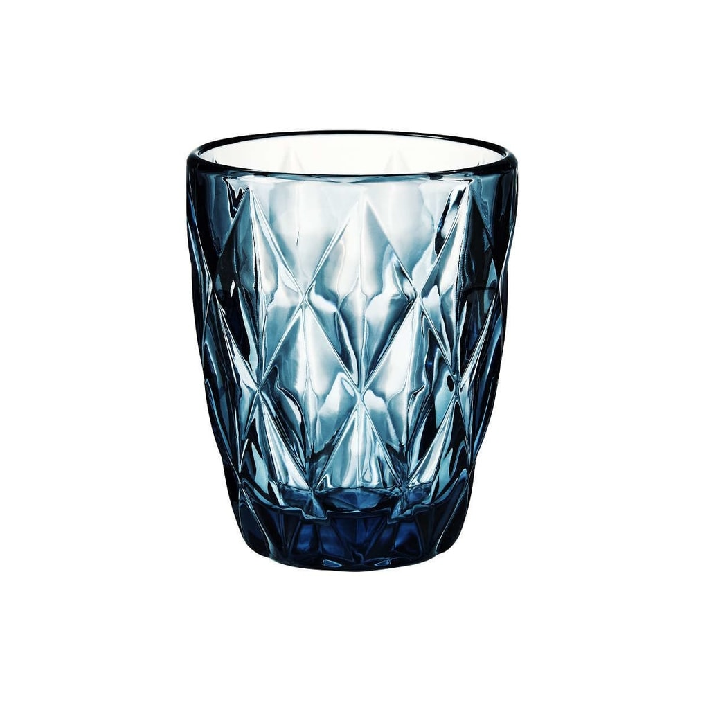 FARO Sklenice diamant 230 ml - tyrkysová