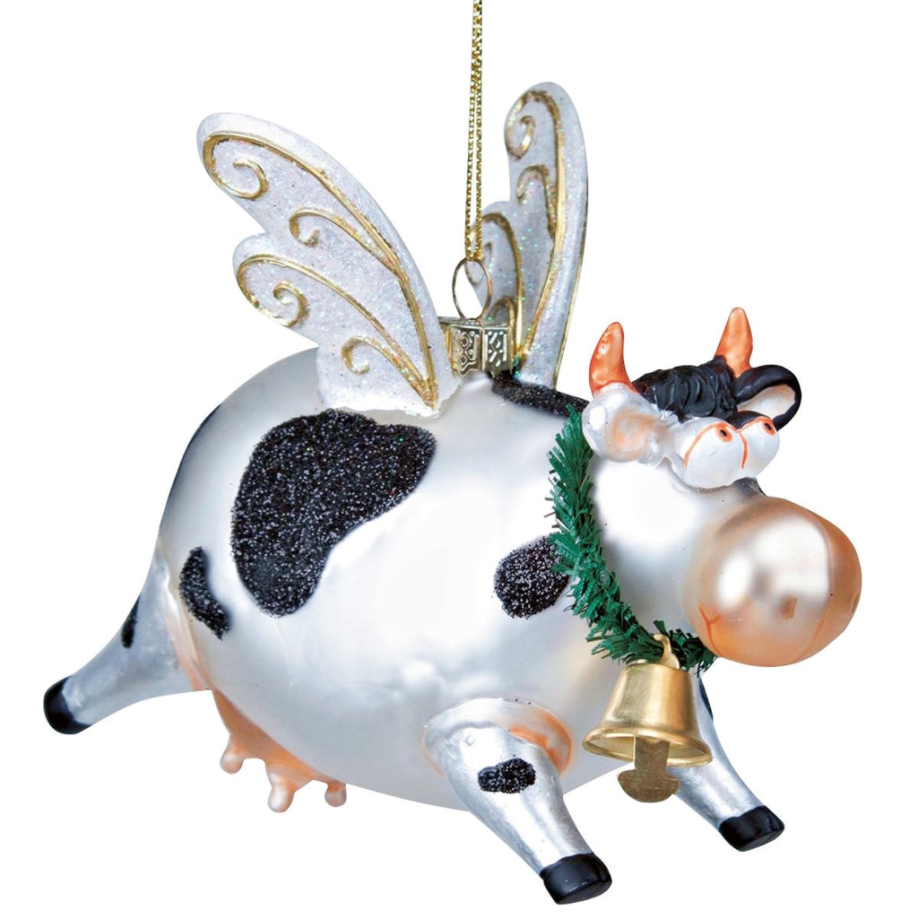 HANG ON Ozdoba letající kráva