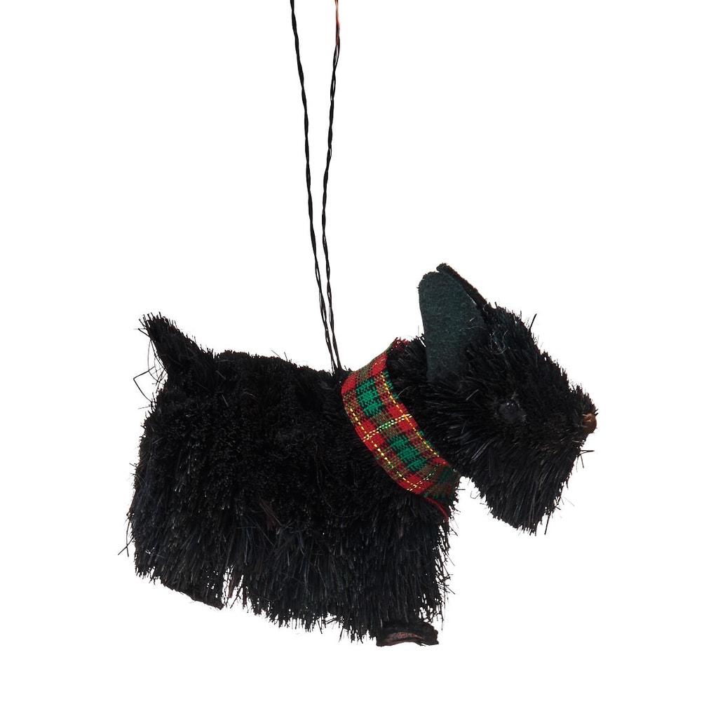HANG ON Ozdoba skotský teriér černý