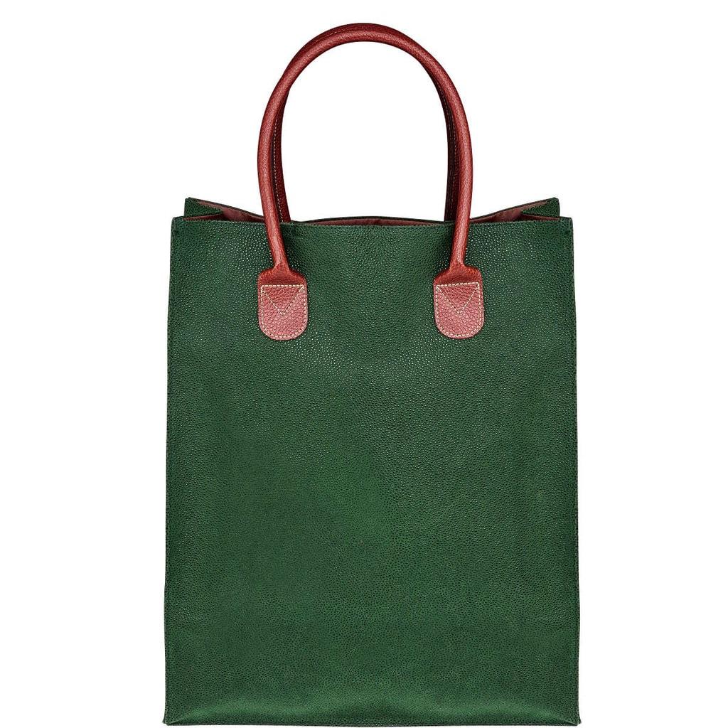 PACK & RIDE Nákupní taška - zelená