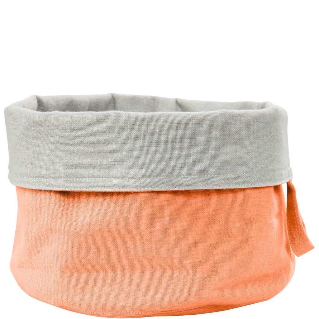 SPHERE Košík na pečivo textilní - oranžová