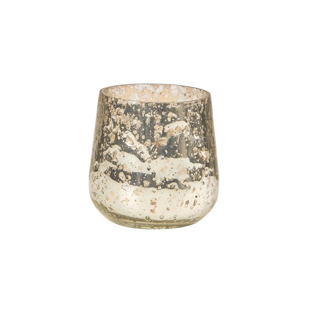 PIXIE DUST Svícen 8 cm - stříbrná