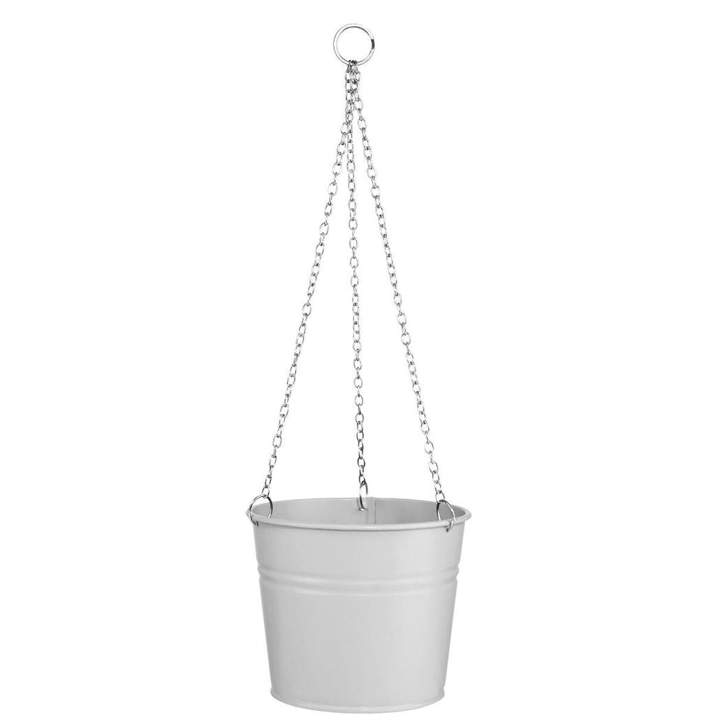 ZINC Závěsný květináč - šedá