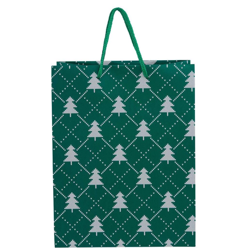X-MAS Dárková taška stromeček, velký